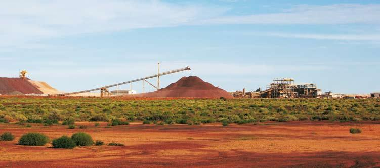 Prominent Hill processing plant Dear Shareholder, I am pleased to report to shareholders after my first year as Chairman of OZ Minerals.