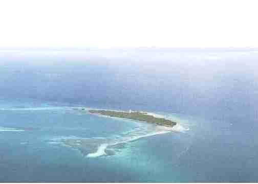 coral rag island, 8 miles south of
