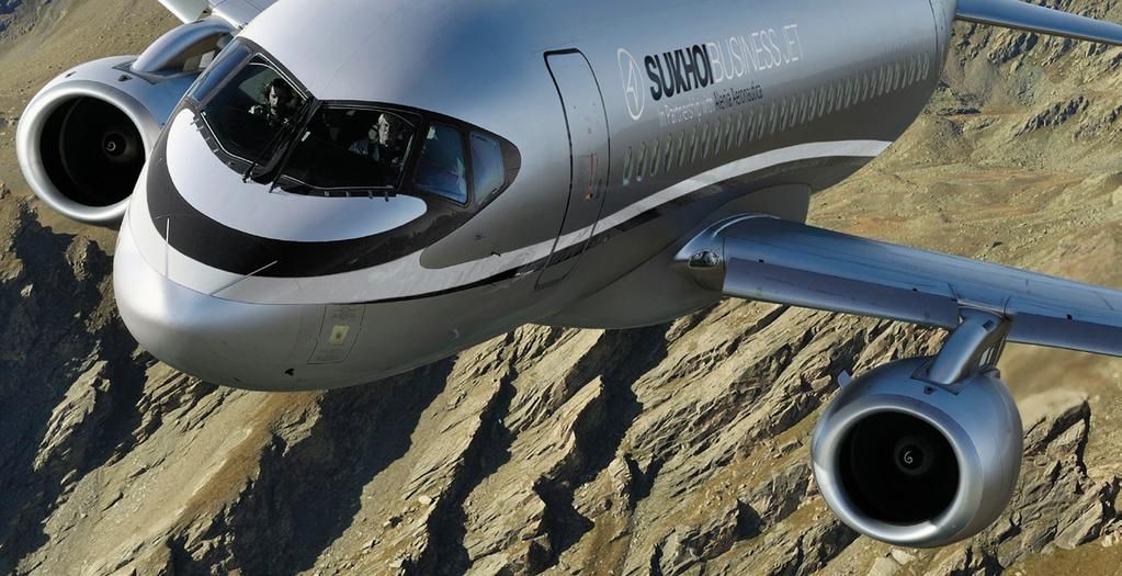 The Sukhoi Business Jet SBJ has been developed to be the most advanced executive business aircraft in service today.