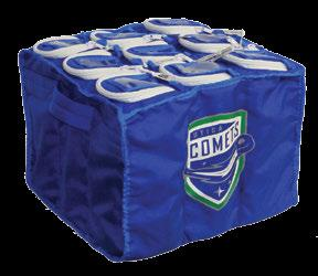 SQUARE PUCK BAG I.D. windows 2.75x4.