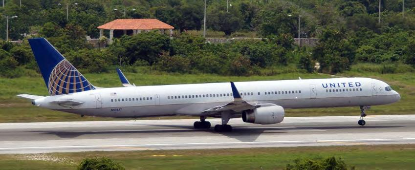 Picture the Aircraft in Question (Sanity Check) Boeing 757-300 taking off at Punta Cana