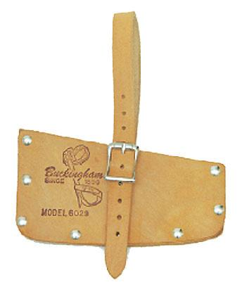 "60299 Fits double blade axes. Made from durable cowhide leather. Leather strap with buckle to secure it to the axe. Overall size: 5-3/4"" x 11-1/2"". CATALOG NO."