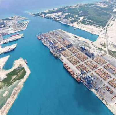Bahamas Freeport expansion US$250 million expansion Freeport Container Port.