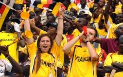 fan base to buy tour packages to Uganda during these games.