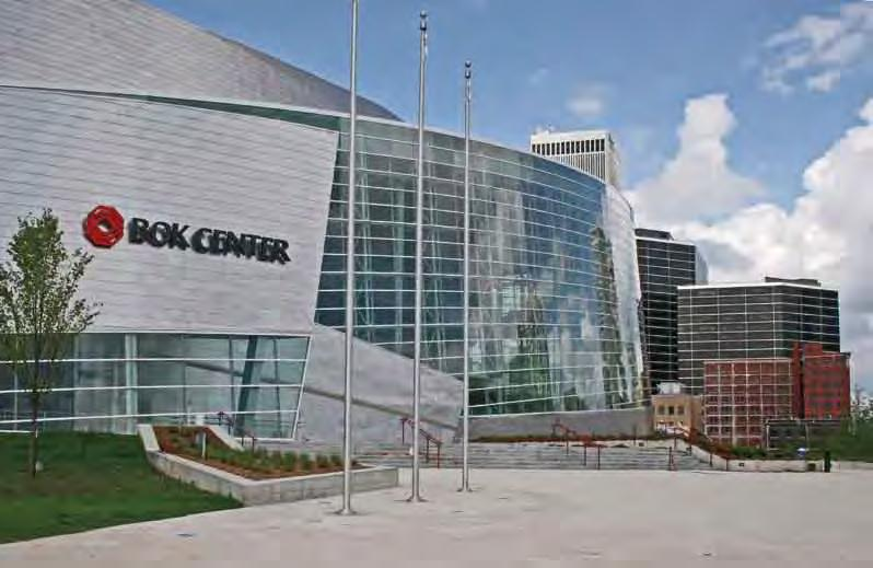 Play in Tulsa Entertainment at the new BOK Center This year, downtown Tulsa officially become home to a striking, 18,000-seat, multiuse arena.