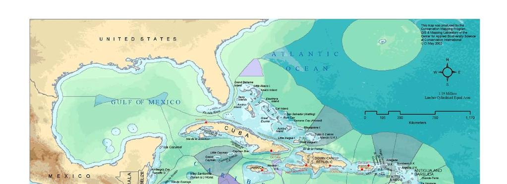 The Wider Caribbean Region Gulf of