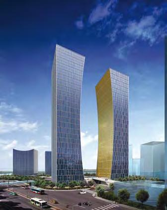 Property SHANGHAI Lu Jia Zui New Financial District Project 50% owned Business Review Site area: 249,400 m 2 Gross floor area: 847,000 m 2 Usage: Office, retail, hotel and residential Expected