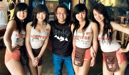Located in Patong, the entertainment district of the province, the restaurant will offer the brand s trademark chicken wings and beautiful Hooters Girls.