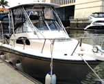com 2007. Italian demo yacht. Cranchi 47ft. Hard top. Fully loaded with tropical aircon, genset, electrical winches, garage, roof.