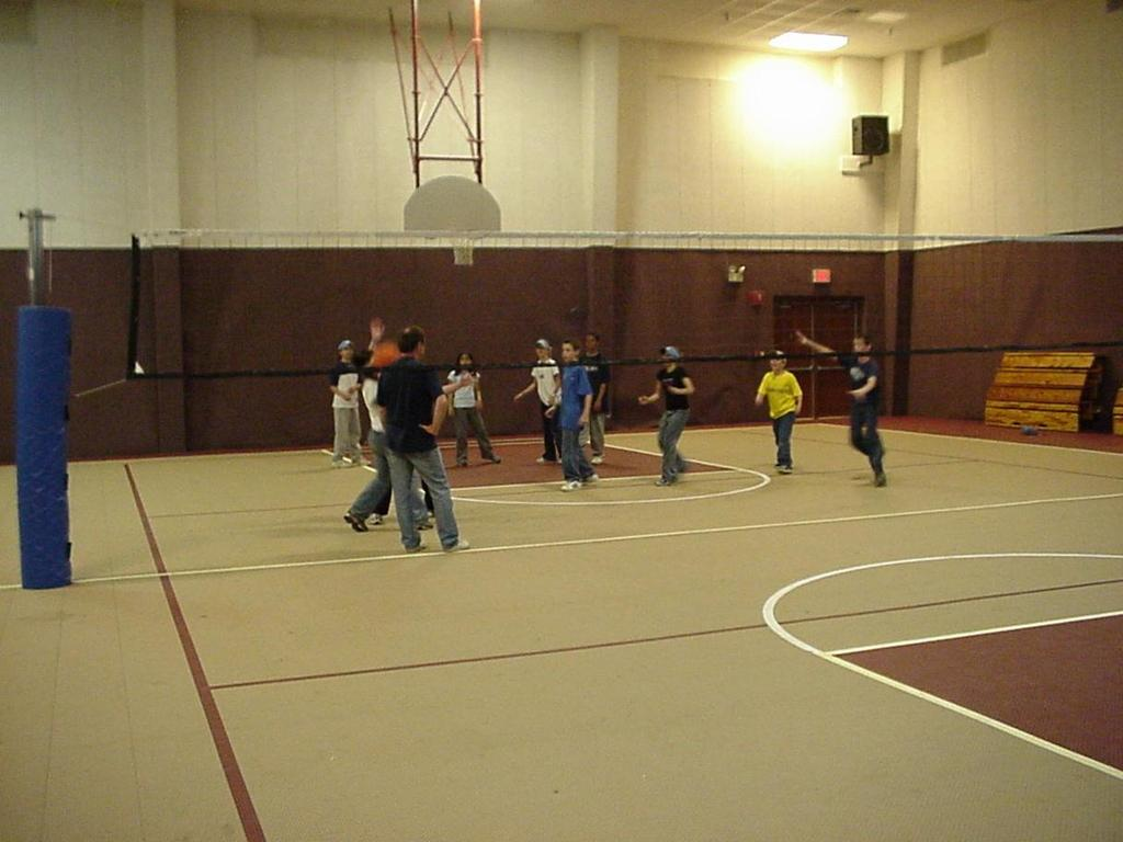 Gymnasium for Recreation or