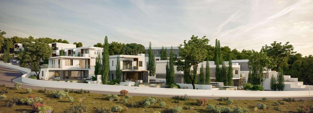 Location Views Design Exclusive area in the hills of Ayios Tychonas, moments away from the city and coastline.