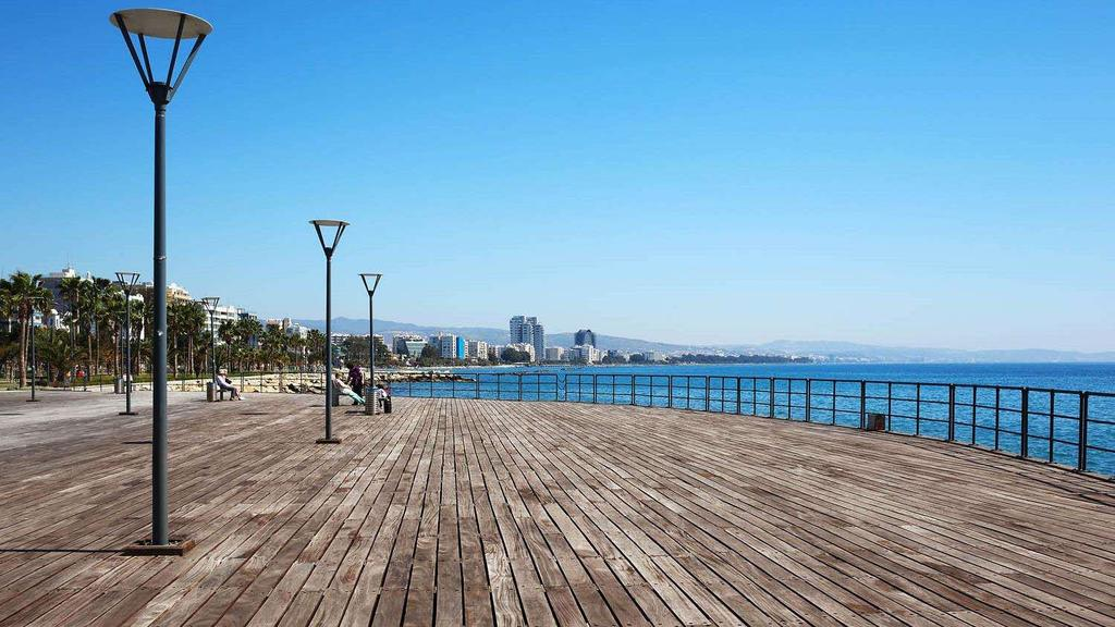 LIMASSOL THE CITY OF CHOICE Limassol is Cyprus cosmopolitan capital, its most important business district and a vibrant modern playground.
