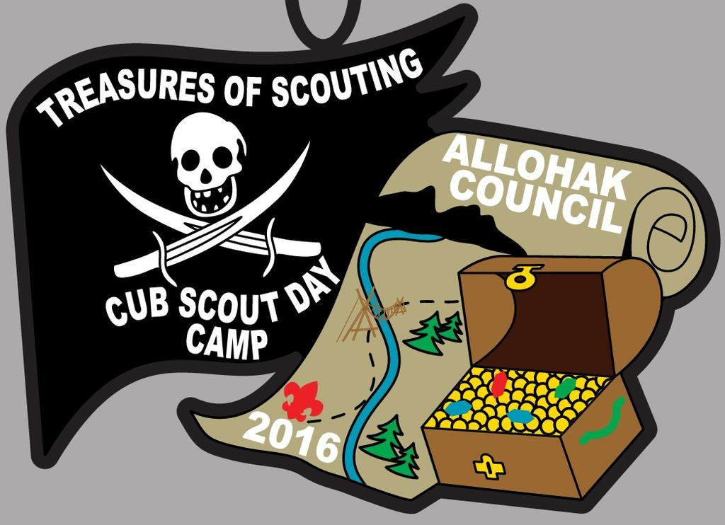 DAY CAMP LEADER S GUIDE 2016 Treasure of Scouting Cub Scout Day Camp June 20 th 22