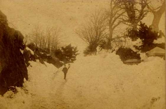 DAY 1 Monday March 9th 1891 The Great Blizzard started midday after a wet and windy morning and the storm increased in severity that afternoon and night.