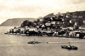 between Kingsbridge and Salcombe during the