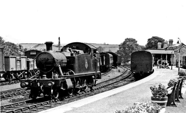 Question 19 When did the railway come to Kingsbridge?