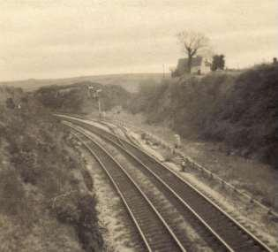 GWR line from Brent to Kingsbridge The line became known as the Primrose Line It left the Brent to