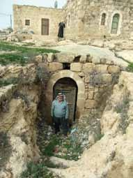 In 1952 Abu Farid s father moved out of the family cave and built the first domed room right on top of their cave dwelling. Domeh. hearth.