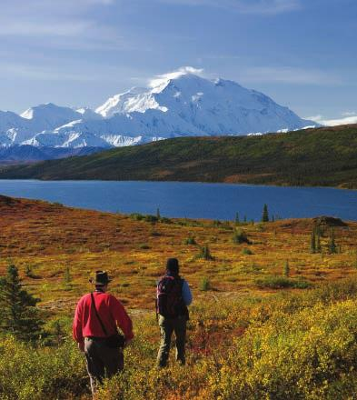 Our premium and most comprehensive adventure features an extra night in Kenai Fjords and Denali National Parks...5 Alaska lodges...and a wide variety of activities at our most relaxed pace.
