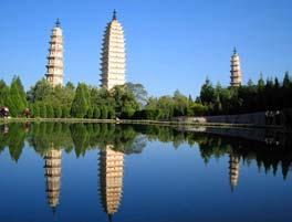 Shangri-La: Beijing- Kunming- Dali- Lijiang- Zhongdian Yunnan Province is located in southwest China bordering Burma, Laos and Vietnam on its west. The capital city is Kunming, a city of spring.