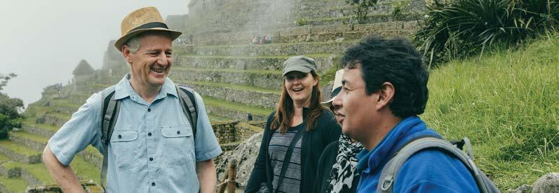PEREGR I NE T R I P Machu Picchu, Peru Northern Peru & One Day Inca Trail Limited Edition 13 Days Kuelap Revash Leymebamba South Pacific Ocean Cocachimba Lima PERU Machu Picchu Sacred Valley/