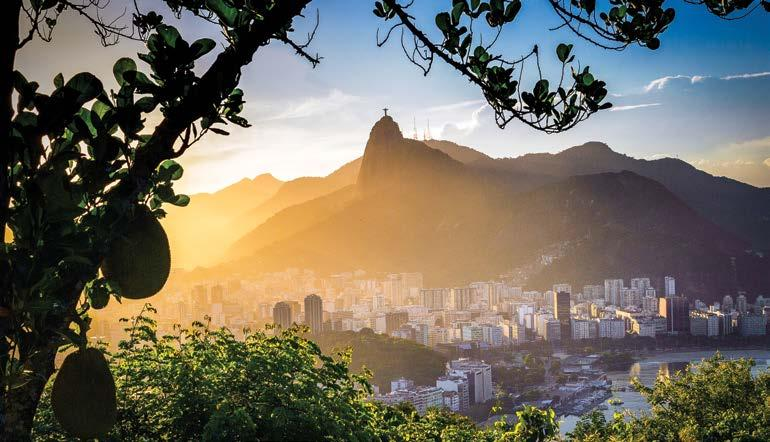 SOUTH AMERICA Rio de Janeiro, Brazil Argentina & Brazil Iguazu Falls BRAZIL Rio de Janeiro 7 Days ARGENTINA South Atlantic Ocean Day 1 Buenos Aires Arrive in Argentina s capital and transfer to the