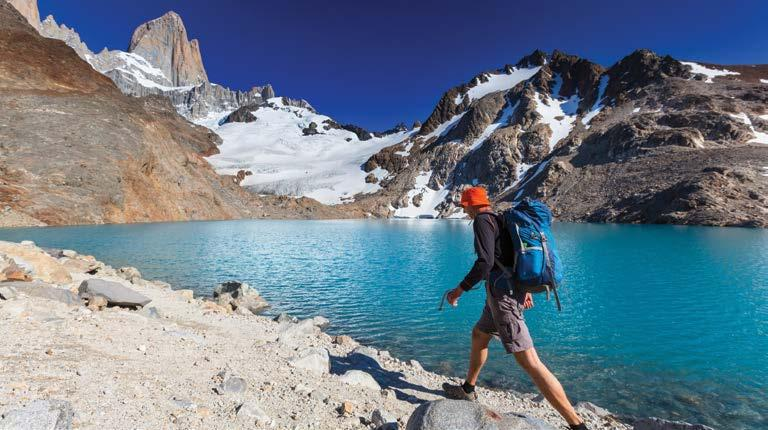 Cerro Fitz Roy and Laguna de los Tres, Patagonia SOUTH AMERICA Patagonia Hiking 10 Days GROUP WALKING TOUR This is a walking trip. A reasonable level of fitness is required.