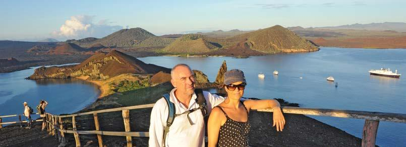 GALAPAGOS ISLANDS Pinnacle Rock, Isla Bartolome, Ecuador Grand Galapagos 17 Days Day 1 Quito Arrive in Quito, a charming and historic city in the Andean foothills.