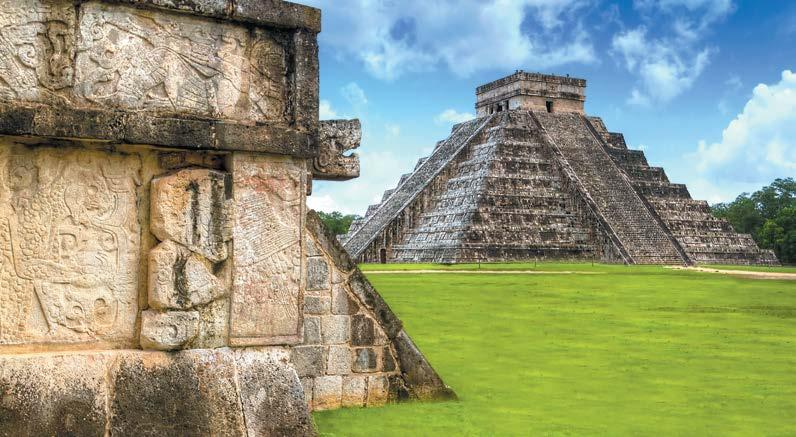 GUATEMALA, COSTA RICA & MEXICO PEREGR I NE T R I P Chichen Itza, Mexico Mexico Highlights 10 Days Day 1 Playa del Carmen Blessed with all the powdery beaches and azure waters of nearby Cancun but
