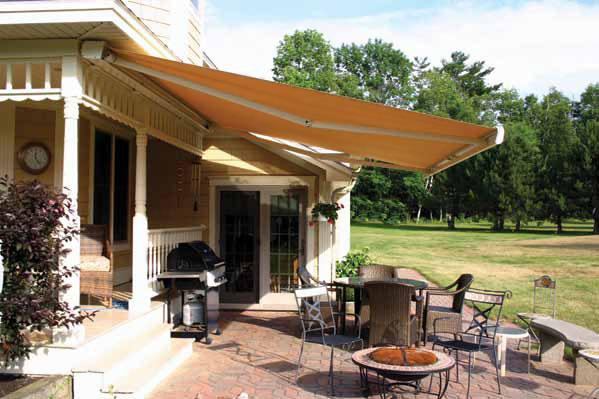 Exclusively from NuImage Awnings Distinctive homes require exceptional