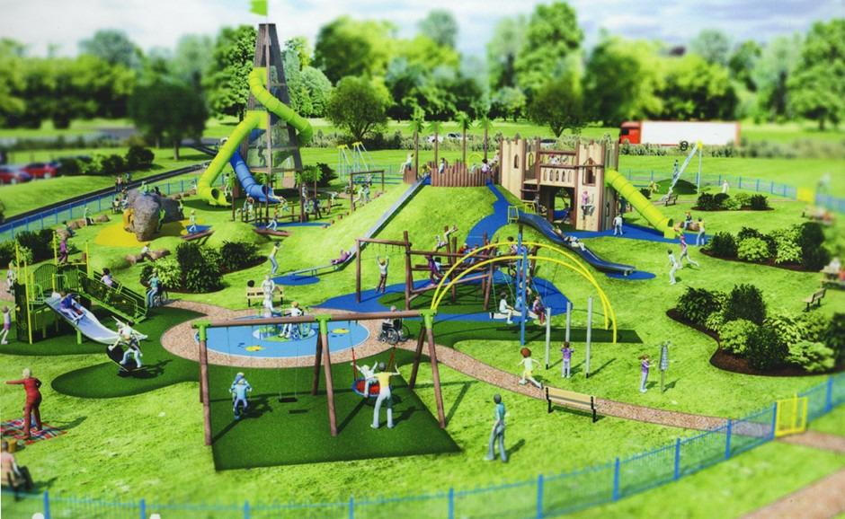 ALVER VALLEY COUNTRY PARK Following a public consultation by Gosport Borough Council which received 861 responses, a decision has been made to develop a play area on the west side of the park (close