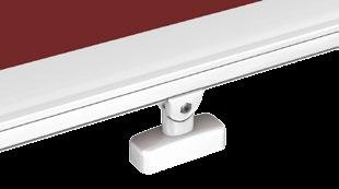 (optional) secreted in the roller tube markilux 880, brush seal protects the retracted cover against soiling