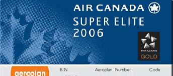 Aeroplan - Canada s Premier Loyalty Program 90% of business travelers in Canada are Aeroplan members