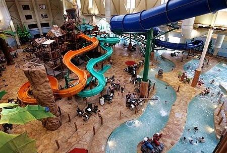 Your stay includes access to the waterpark, kept warm at 84-degrees year-round. Access is always exclusive to guests for shorter lines and non-stop fun.