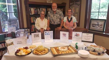 Ecumenical Community Meal The purveyors for our Ecumenical Community Meal during the month of June were: Neville's Italian Bloomin Onion Restaurant in Mountainhome, Velma's