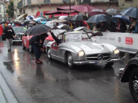 Mille Miglia - 1000 miles 2013 However the sun shone on a couple of half days and a drive around the Lake was a