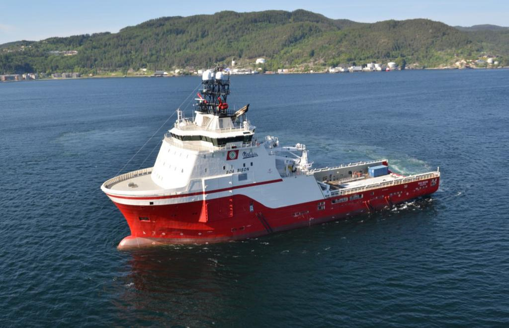 FEATURE VESSEL OSV NEWBUILDINGS, S&P BOA BISON OCEAN STAR COMMENCES STATOIL CHARTER Atlantic Offshore recently accepted delivery of its latest PSV, Ocean Star, with the vessel commencing its maiden