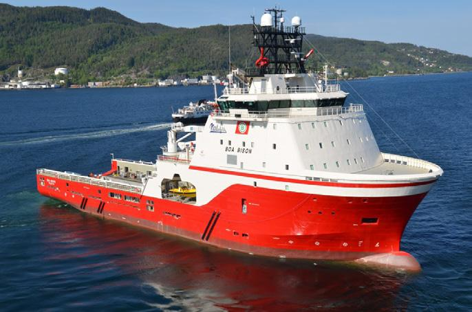 Ocean Star was built to Wartsila s VS 485 MK III L design at Kleven s Myklebust Verft shipyard in Norway. The vessel has an overall length of 90.4m and moulded breadth of 20.