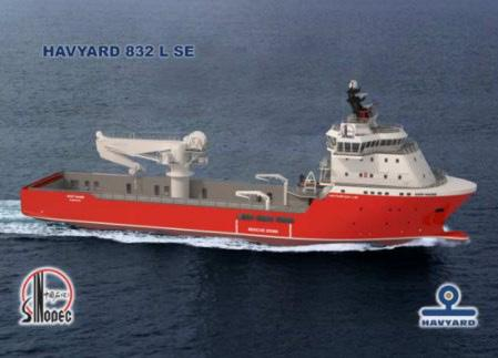 This consists of three DP 2 PSVs, each with a deadweight of 3,000t, and one 200-man accommodation work boat.