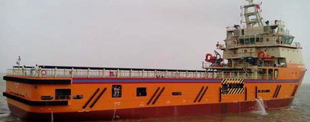 The vessel was constructed at the Kattupalli Shipyard near Chennai, India. Halul 42 has an overall length of 78.