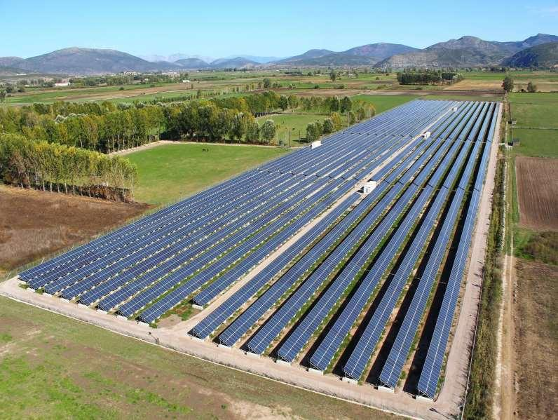 "INDICATIVE LIST OF PV PROJECTS PV Park MITILINEOS"" 5 ΜW IN KASTRO SUPPORT OF"