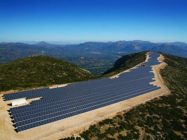 INDICATIVE LIST OF PV PROJECTS PV PARK ANEMOS 2 ΜW IN ARGOS SUPPORT OF PANELS-INSTALLATION