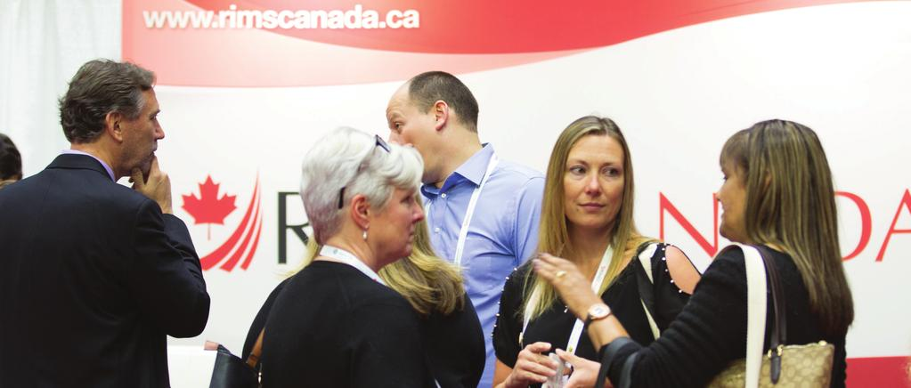 Exhibitor Opportunities Everything You Need To Reserve Space at the 2019 RIMS Canada Conference What is included in each 10x10 booth?