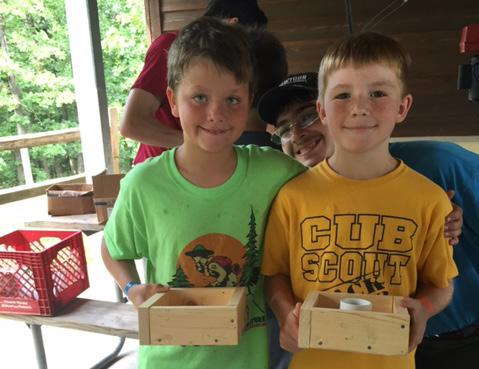 Bear Camp is for Cub Scouts in the 3rd grade and includes opportunities to complete Bear required and elective adventures.