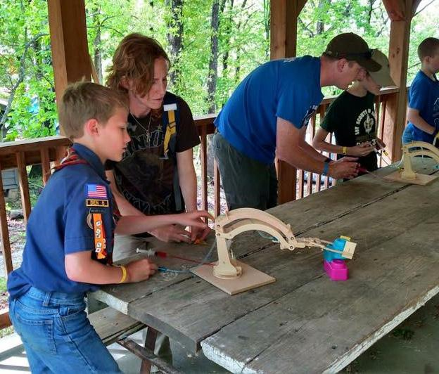 Webelos STEM Camp Destination: Bartle Scout Reservation, Osceola, MO Who Can Attend: Webelos
