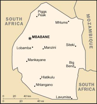 SWAZILAND 1. INTRODUCTION Swaziland is one of the smallest, landlocked countries on the African continent.