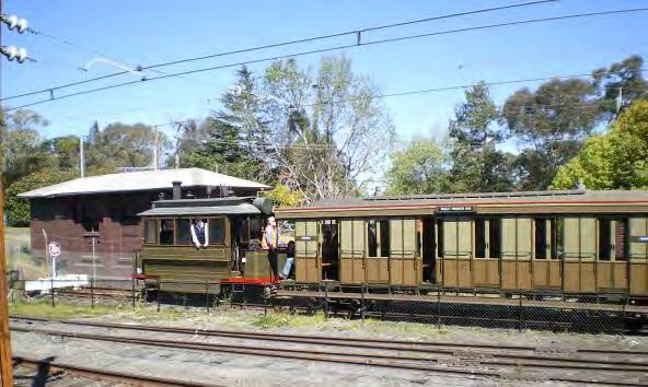 Proudly associated with the NSW Rail Transport Museum ( Blue Mountains Division). Affiliated with the Council of Tramway Museums of Australasia and Rail Heritage Australia (NSW).
