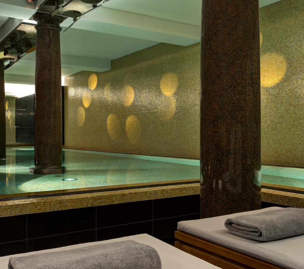 INSIDE OUR WALLS CITY SANCTUARY De Rome Spa Once the bank s jewel vault, the subterranean De Rome Spa offers peace, relaxation and restoration in the centre of fast-paced Berlin.