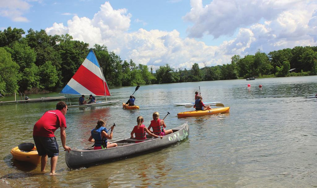 ADVENTURE AWAITS CURRICULUM GUIDE To learn more about the classes offered at YMCA Camp Eberhart please take a look through this packet.
