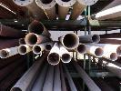 GALVANISED PIPE, 4 WITH WELDED FLANGE ENDS,